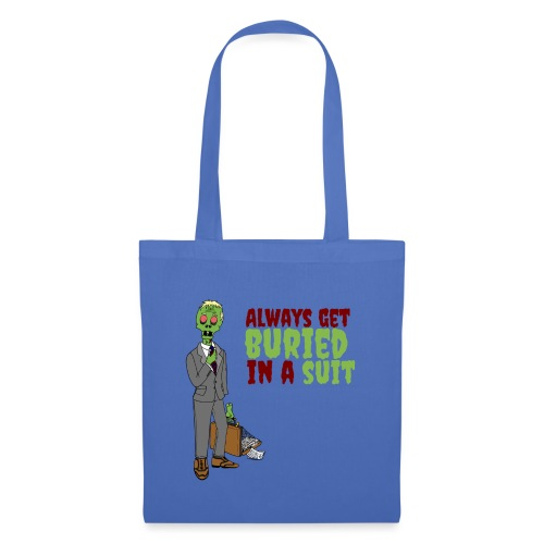 Buried in Suit - Tote Bag