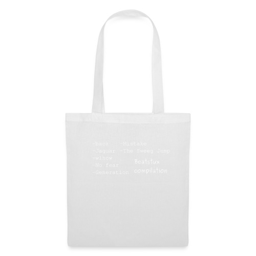 compilation_bianco - Borsa di stoffa