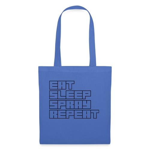 EATSLEEPSPRAYREPEAT - Tote Bag