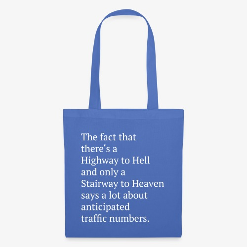 TShirt Highway to Hell - Stoffbeutel