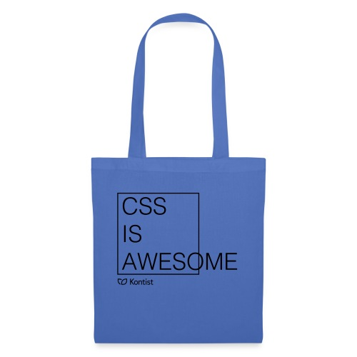 css is awesome - Stoffbeutel