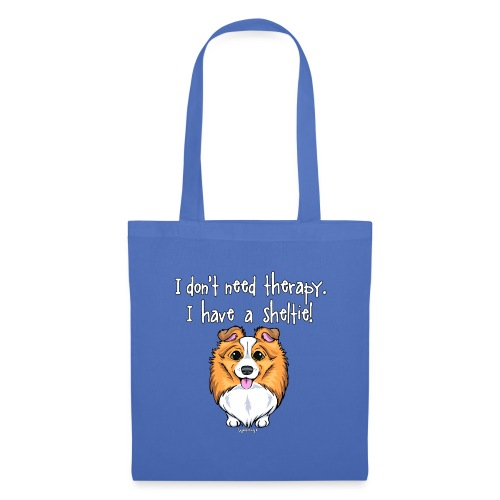 Sheltie Dog Therapy 2 - Tote Bag