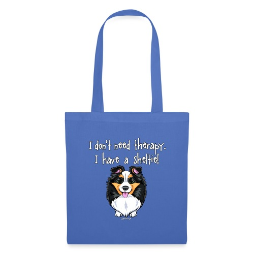 Sheltie Dog Therapy - Tote Bag