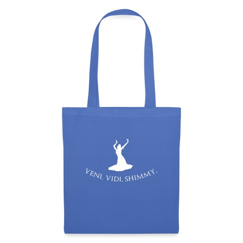 Veni Vidi Shimmy White - Tote Bag