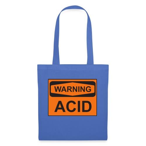 Warning Acid - Stoffbeutel