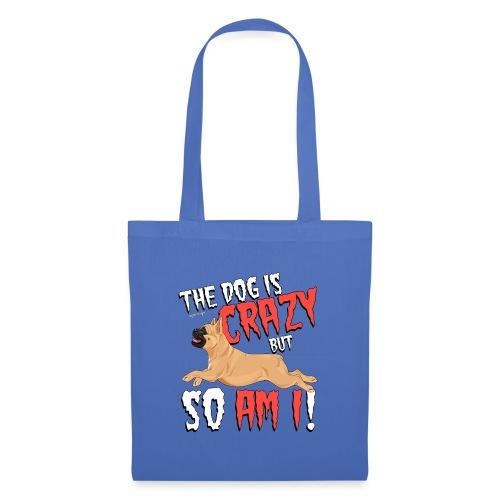 French Bulldog Crazy 6 - Tote Bag