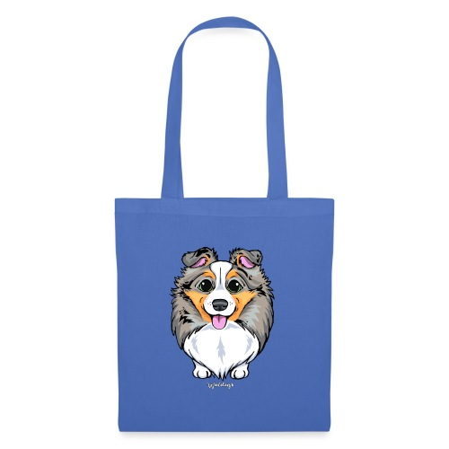 Sheltie Dog Cute 2 - Tote Bag