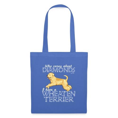 Wheaten Terrier Diamonds 3 - Tote Bag