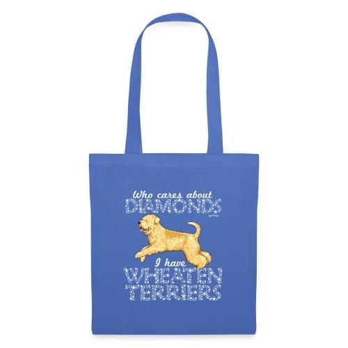 Wheaten Terrier Diamonds 2 - Tote Bag