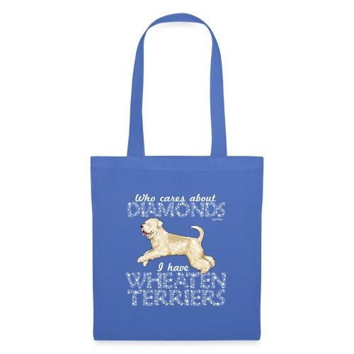 Wheaten Terrier Diamonds - Tote Bag