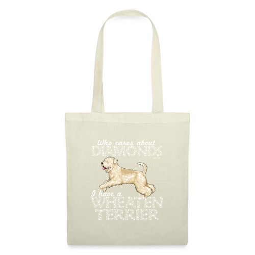 Wheaten Terrier Diamonds 4 - Tote Bag