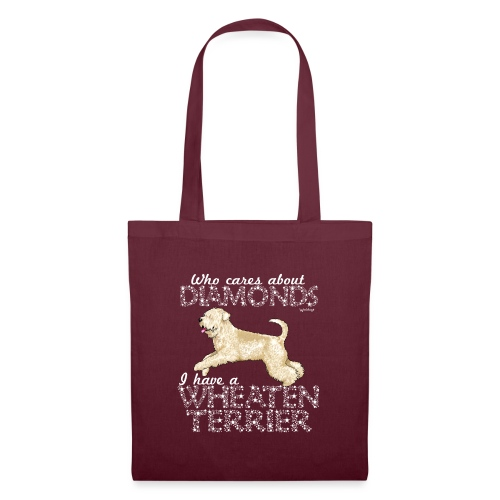 Wheaten Terrier Diamonds 4 - Tote Bag
