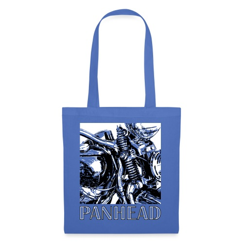 Panhead motordetail 02 - Tas van stof