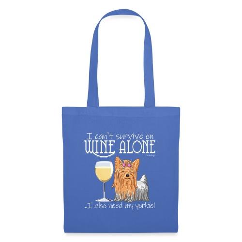 Wine Alone Yorkie - Kangaskassi