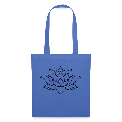 logo nur lotus pfade shirt - Stoffbeutel
