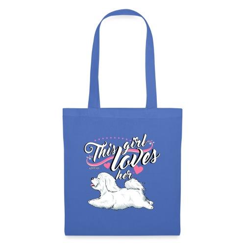 Coton De Tuléar Girl - Tote Bag