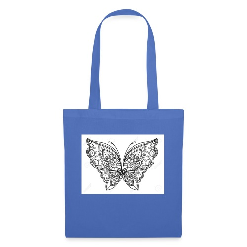 78831507 le style zentangle papillon dessine a in - Sac en tissu
