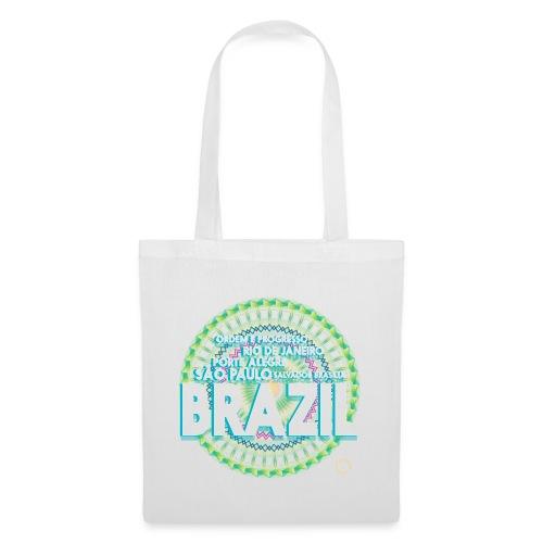 Lemon Brazil Mandala - Tote Bag