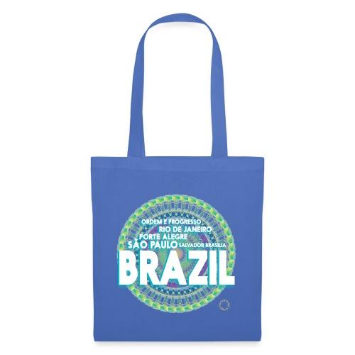 Lemon Brazil Mandala - Sac en tissu