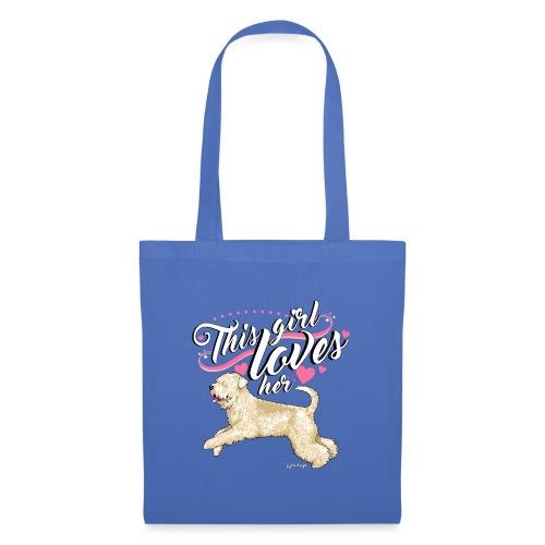 Wheaten Terrier Girl - Tote Bag