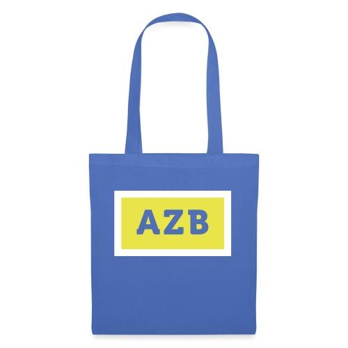 AZB Wit Geel Back - Tas van stof