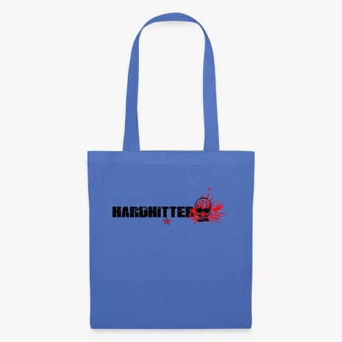 Hardhitter Logo für hellen hintergrund - Stoffbeutel