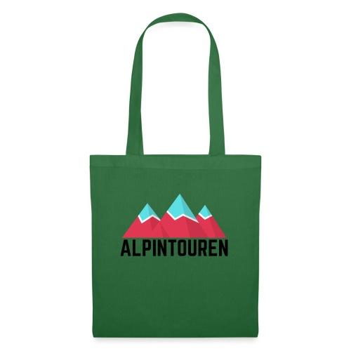 Alpintouren - Stoffbeutel