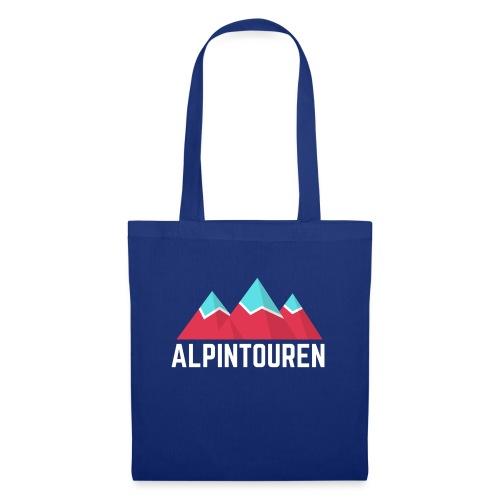 Alpintouren Logo - Stoffbeutel