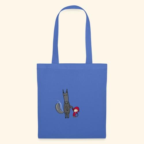 Le loup et le petit chaperon rouge - Tote Bag