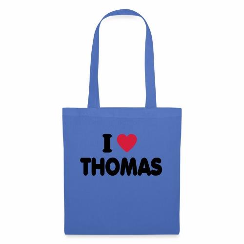 I love Thomas - Stoffbeutel