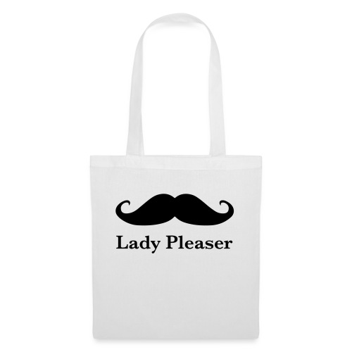 Lady Pleaser T-Shirt in Green - Tote Bag