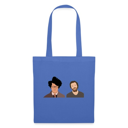 The IT Crowd T-Shirt Moss and Roy - Tote Bag
