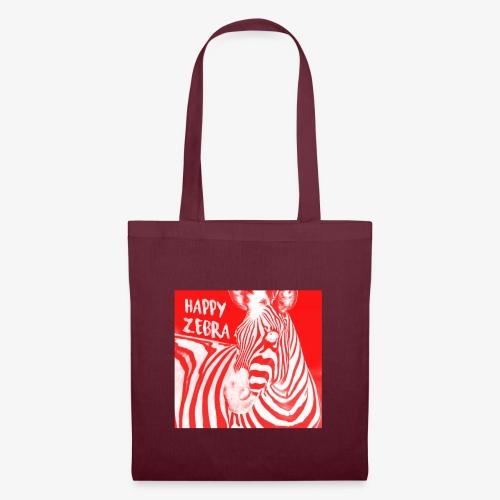 happy zebra - Tote Bag