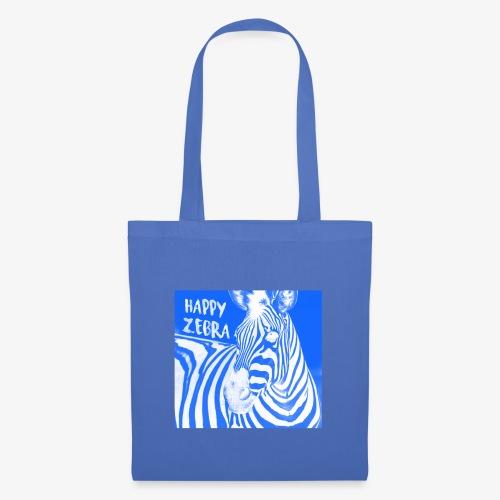 happy zebra - Sac en tissu