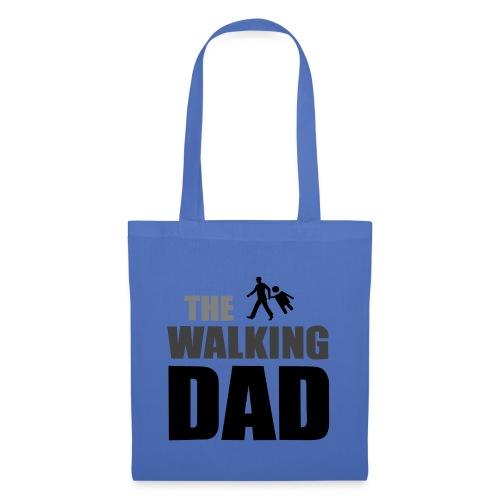 the walking dad auf dem Weg in die lustige Bar - Stoffbeutel