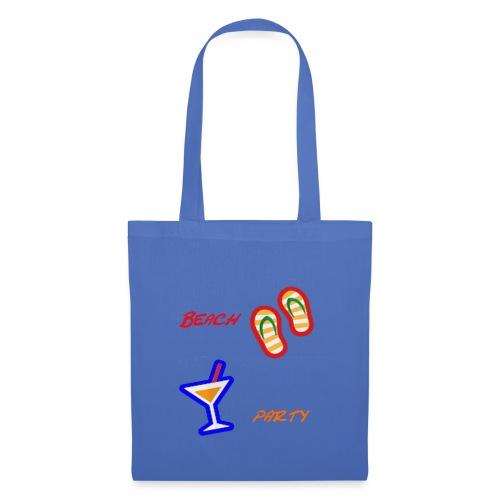 Beach Party Design - Stoffbeutel
