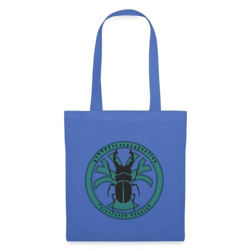 Rhino/Stag Beetle logo - Tote Bag