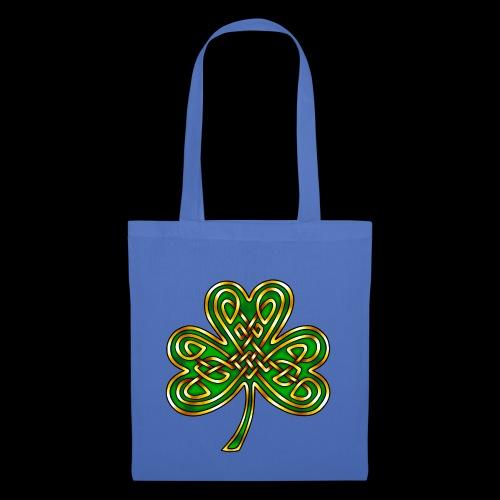 Celtic Knotwork Shamrock - Tote Bag