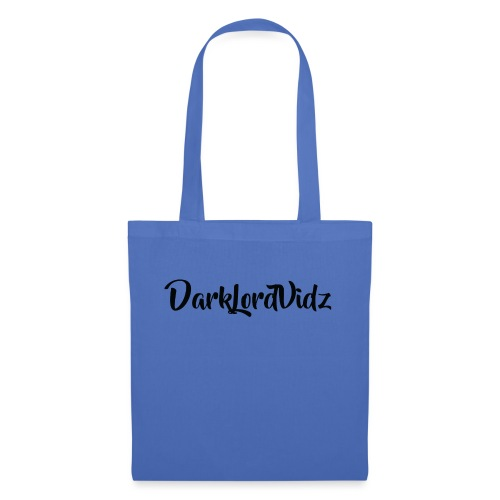 DarklordVidz Black Logo - Tote Bag