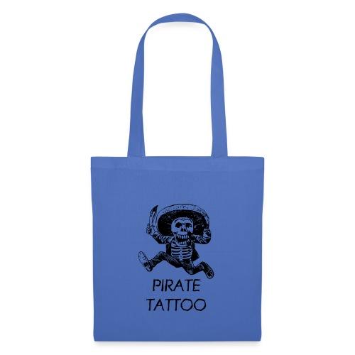 Pirat Tattoo - Stoffbeutel