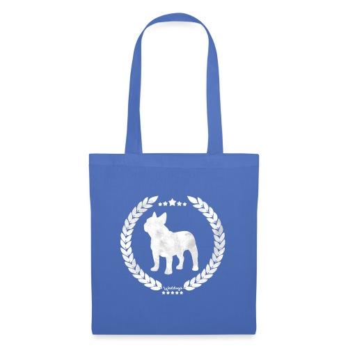 French Bulldog Army Silver - Tote Bag