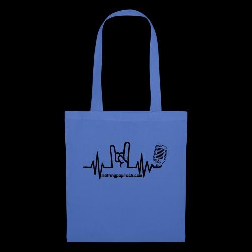 Logo + site noir - Tote Bag