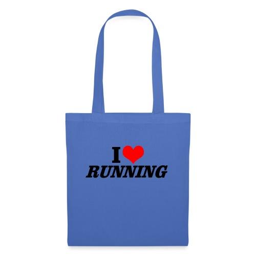 I love running - Stoffbeutel
