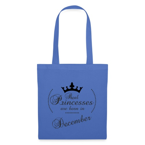 Real Princesses black December - Stoffbeutel