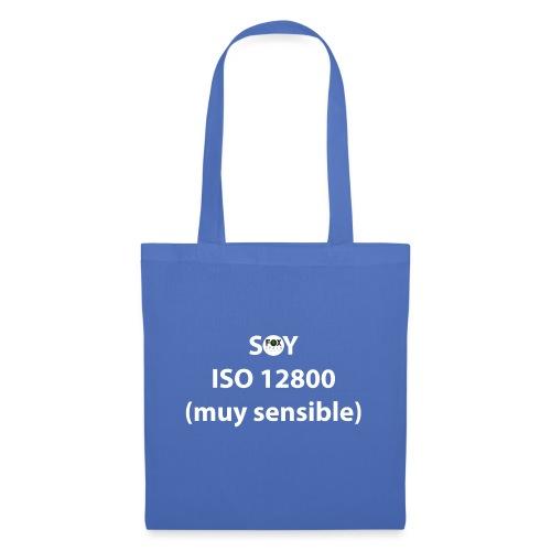 SOY ISO 12800 MUY SENSIBLE con logo - Bolsa de tela
