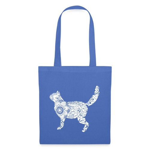 White standing cat - Tote Bag