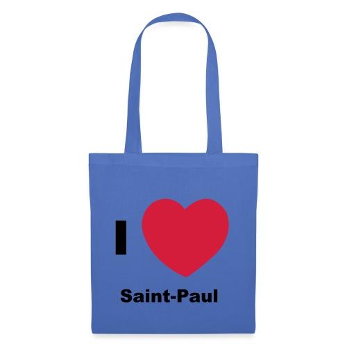 i love sainte paul - Tote Bag