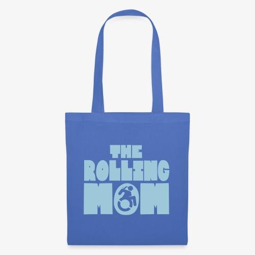 Rollende moeder in een rolstoel - Tas van stof
