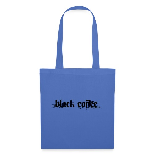 Black Coffee - Bolsa de tela
