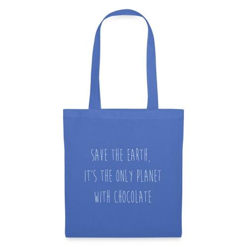 Save earth for chocolate - Tas van stof